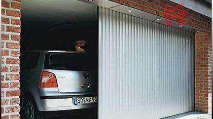 روش نصب درب ریلی پارکینگ
